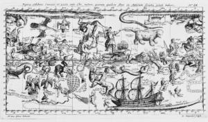 Illustrations de Theatri cometici pars posterior