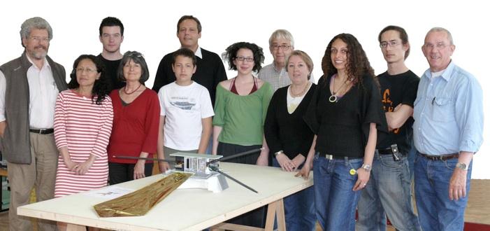 U3P - Equipe projet libellule demoiselle