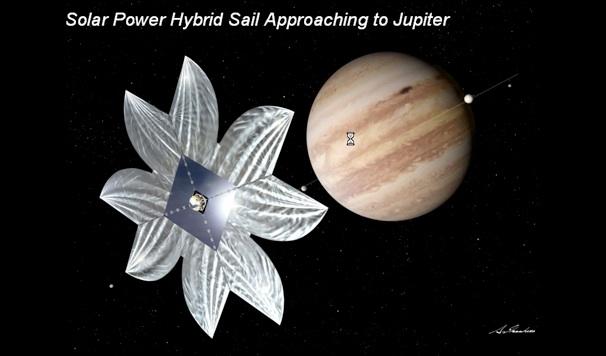 voile solaire hybride