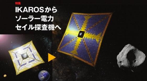 D'IKAROS au Voilier Spatial à Énergie Solaire(JAXA)