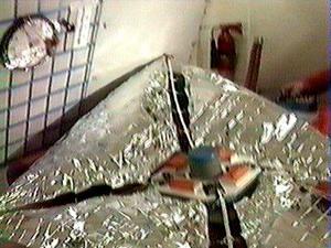 Déploiement voile solaire en vol zero G 9