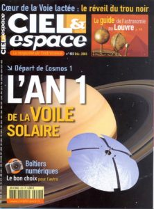 Ciel et Espace - décembre 2003 - Dossier special l'an 1 des voiles solaires