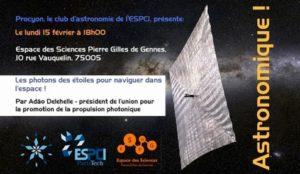 Conférence Adao Delehelle - Affiche