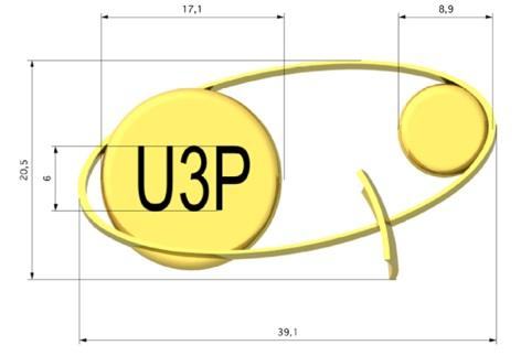 Construction du logo de l'U3P
