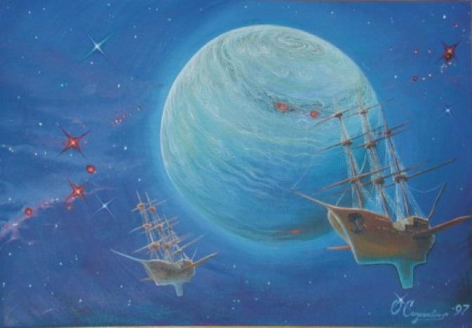 Near lifeless star - Oleg Saprykin - Russie